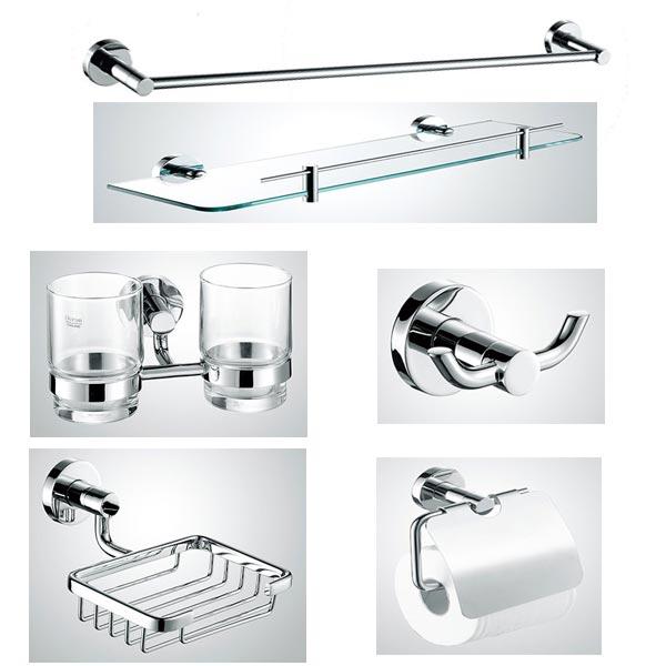 Các sản phẩm phụ kiện nhà tắm inox