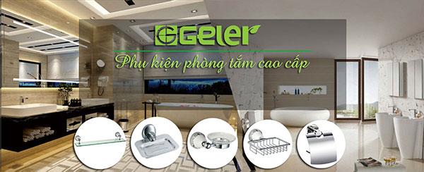 Phụ kiện Geler được trưng bày tại showroom Hải Linh